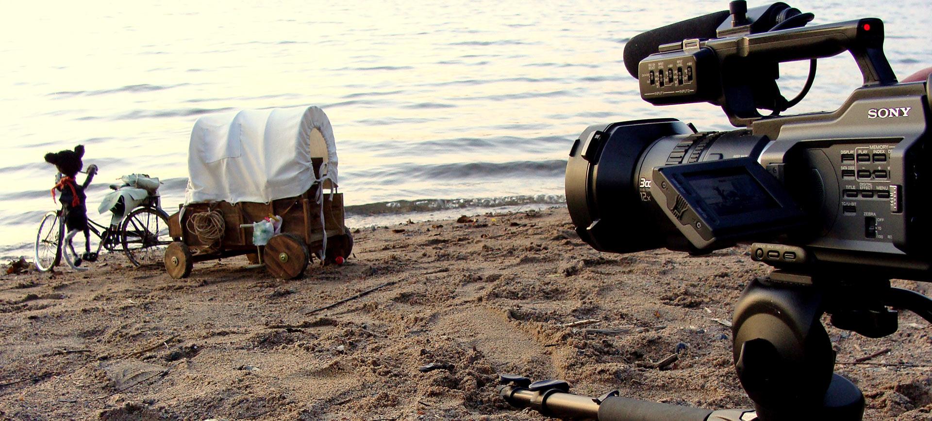 Kamera rannalla